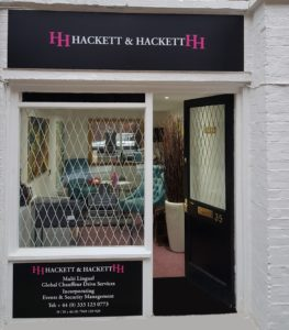 Hackett and Hackett London Office